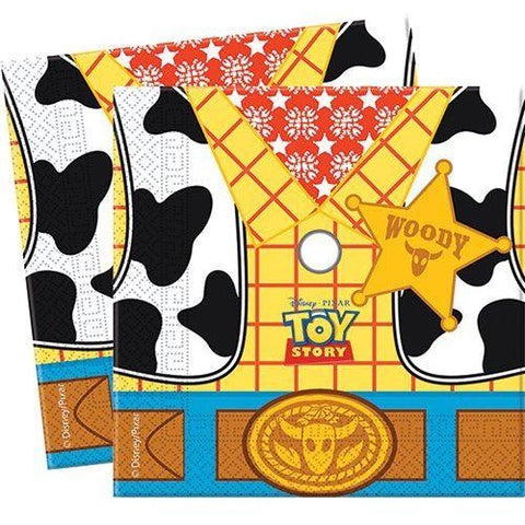 NAPKINS PAPER TWO-PLY 20CT,  TOY STORY STAR POWER