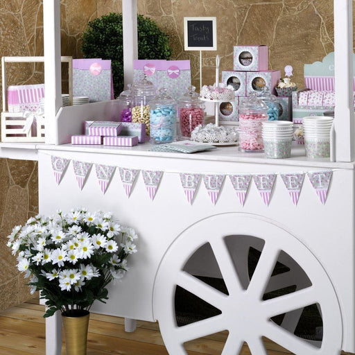 Frills and Spills Candy Buffet Bunting