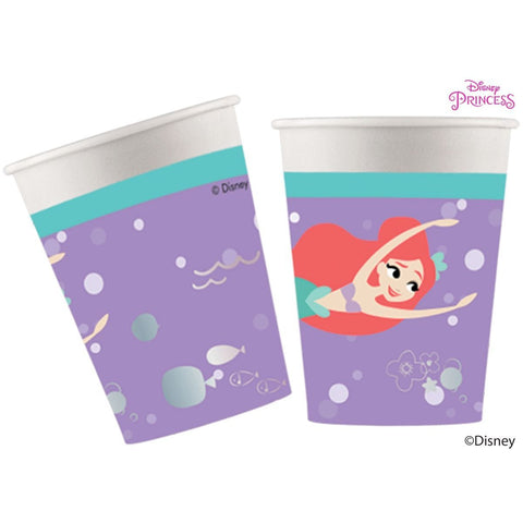 Disney Ariel Under the Sea Cups 200ml 8ct