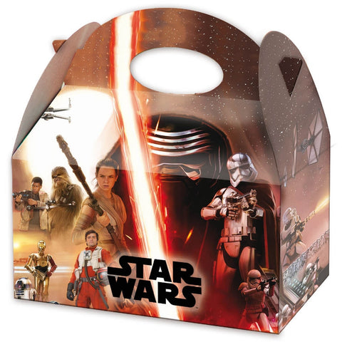 12 (full pack) Star Wars Cardboard Lunch Boxes - Henbrandt