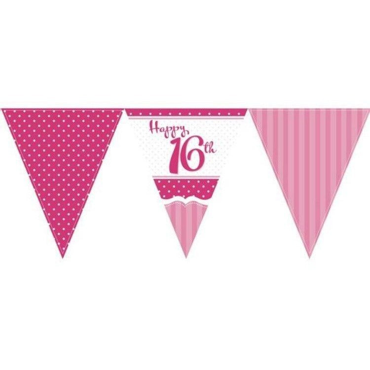 Perfectly Pink Bunting 16th