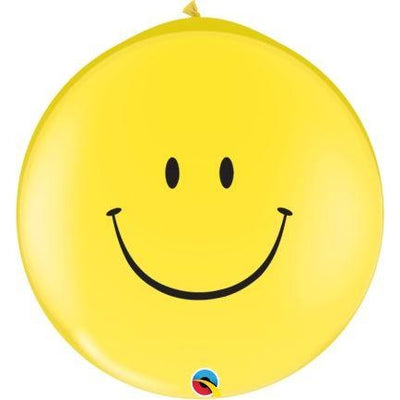 3FT  RND  YELLOW          02CT SMILE FACE (BLK)