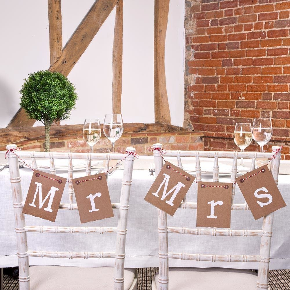 Just My Type - Bunting - Mr & Mrs
