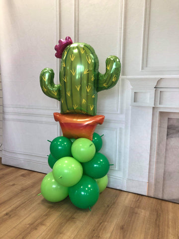 Inflated Cactus Balloon Display (Collection Only)