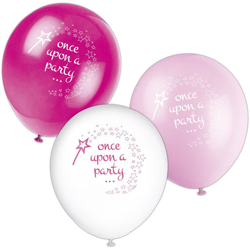 "8 12"" Pink Princess Unicorn Balloon 1S"