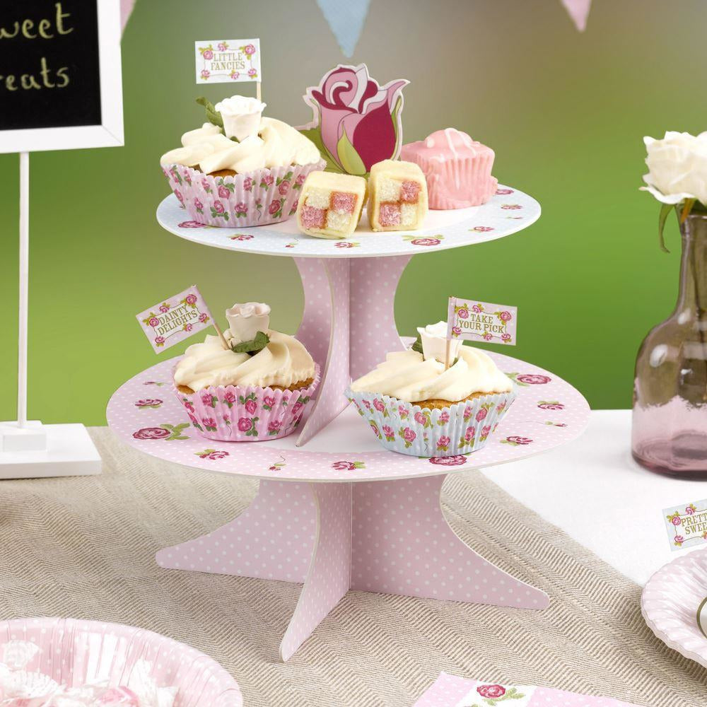 Vintage Rose - Cake Stand due beginning Sept