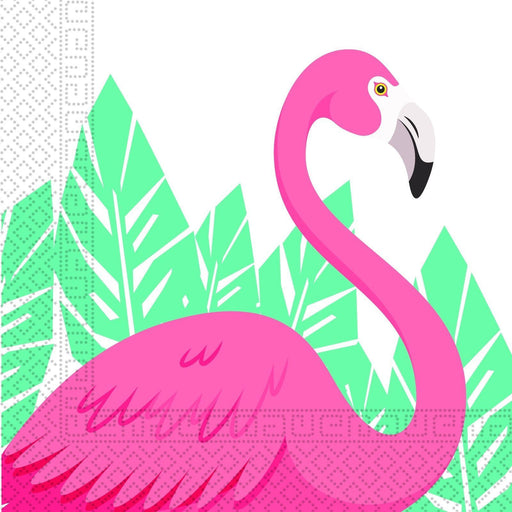 Flamingo Party Napkins 20ct