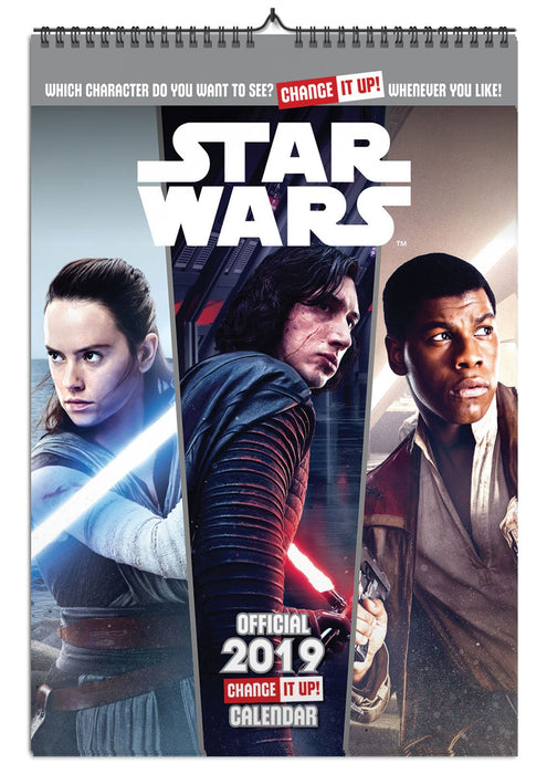 2019 Official Calendar A3 Star Wars Change It Up