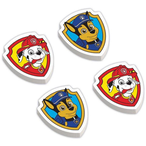 PACKAGED ERASERS PAW PATROL