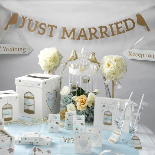 TO HAVE AND TO HOLD - JUST MARRIED BUNTING LARGE 1.5M