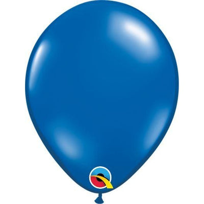 "05""  RND  SAPPHIRE BLUE  100CT QUALATEX PLAIN LATEX"