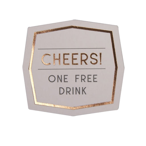 Geo Blush - Drinks Tokens - 25