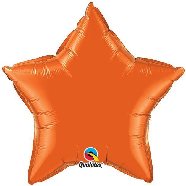 "20""  STAR                   ST,  ORANGE PLAIN FOIL"