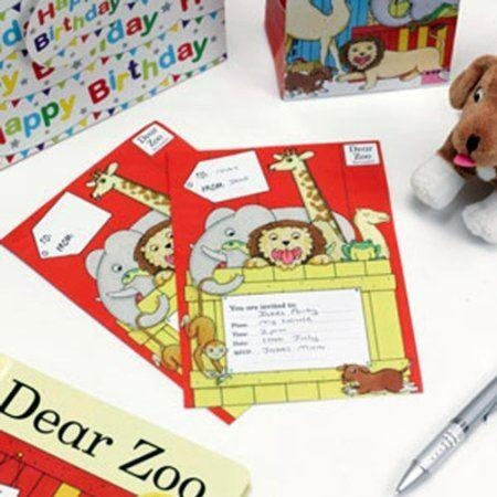 Dear Zoo Invitations