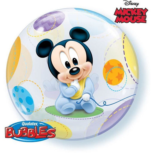 "22""  SINGLE BUBBLE        01CT,  DN BABY MICKEY MOUSE"