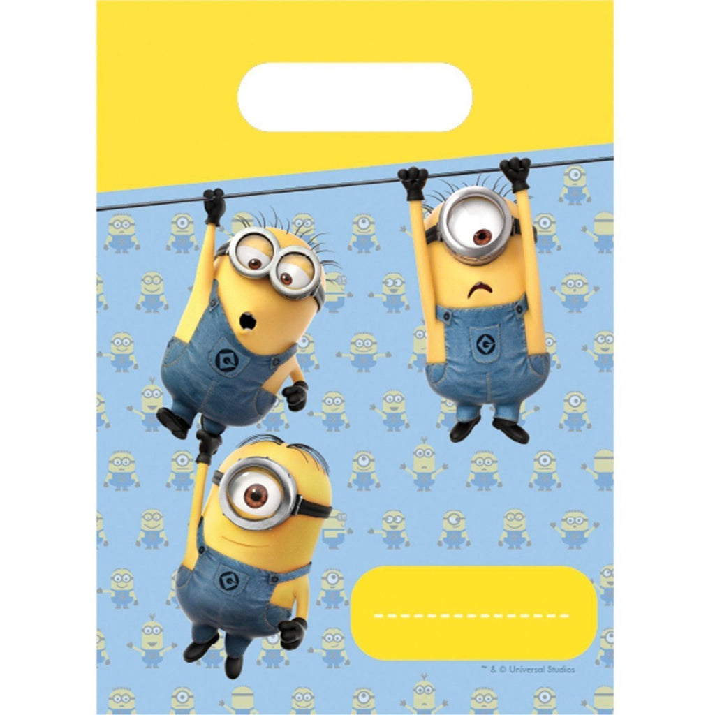 PARTY BAGS 6CT,  LOVELY MINIONS
