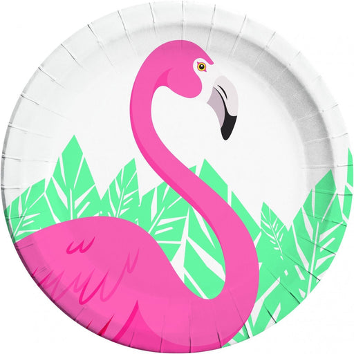 Flamingo Party Plates 8ct