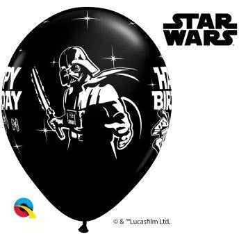 "11""  RND  SPECIAL AST     25CT,  STAR WARS BDAY AST"