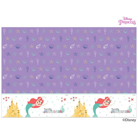 Disney Ariel Under the Sea Party Tablecover 120x180cm