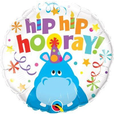 "18""  RND                  01CT,  HIP HIP HOORAY HIPPO"