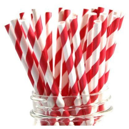 Just My Type - Paper Straws - 25