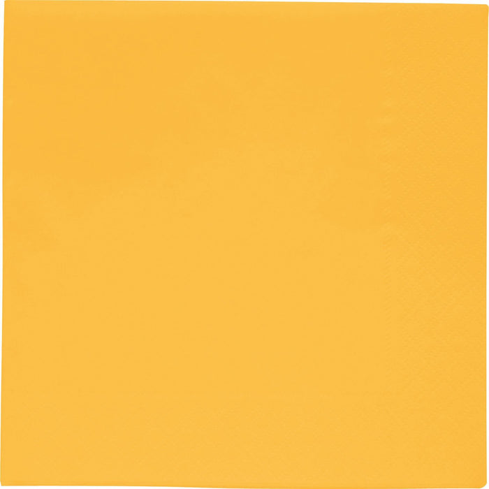 BBS YELLOW NAPKINS 33x33 CM 2 PLY - END OF LINE