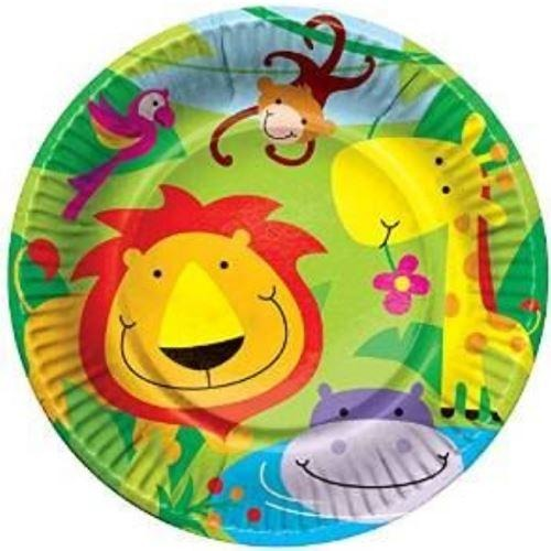 Jungle Party Plates