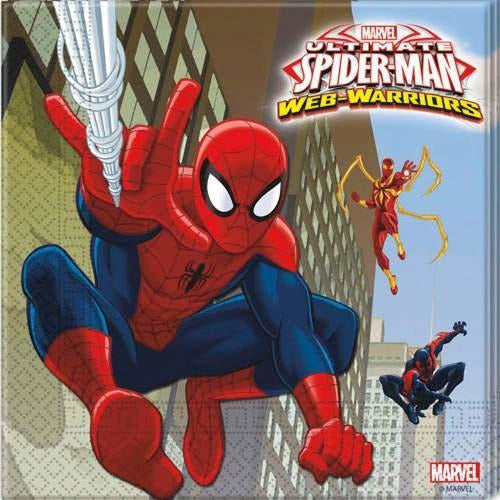 Ultimate Spider-Man Luncheon Napkins, 20ct