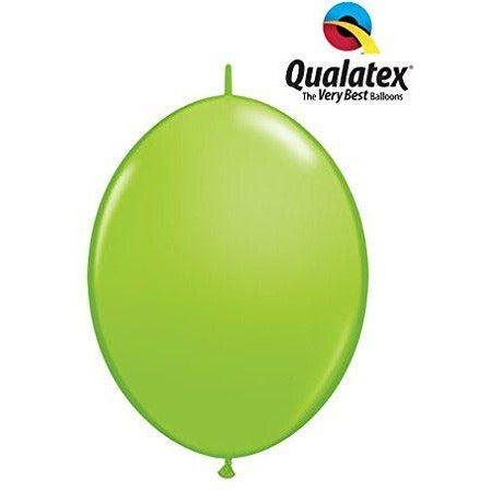 "06"" QLINK LIME GREEN      50CT,  QUALATEX QUICK LINK BALLOONS"