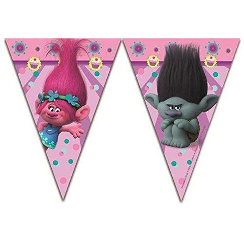 BANNER - TRIANGLE FLAG (9),  TROLLS