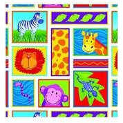 PRNT GFT WRP 5  JUNGLE ANIMALS
