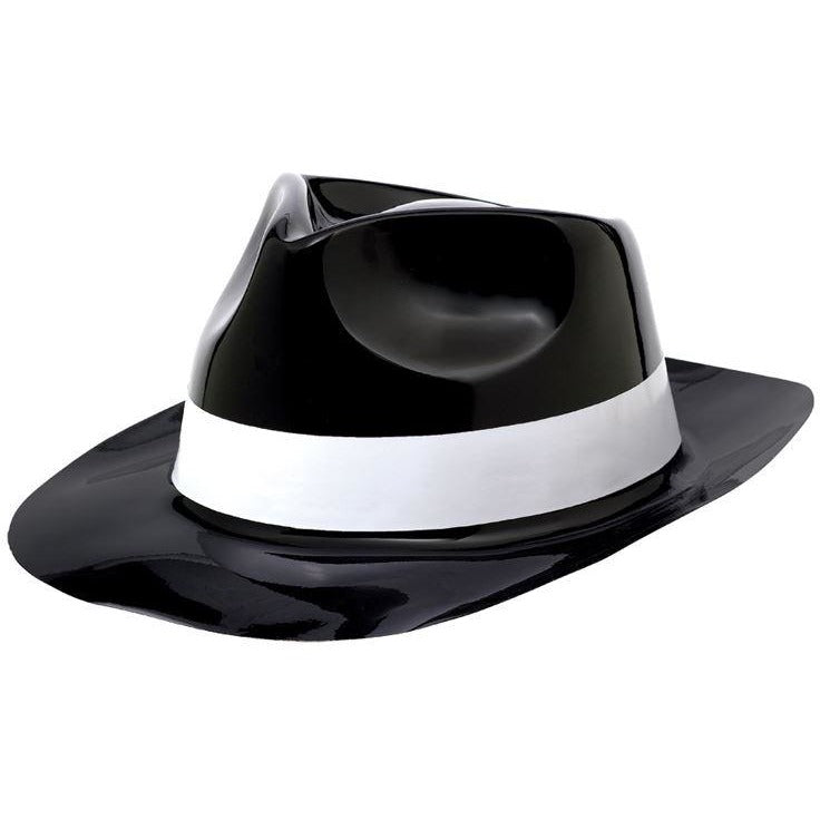 HAT FEDORA W ITH WHT BAND 50 S