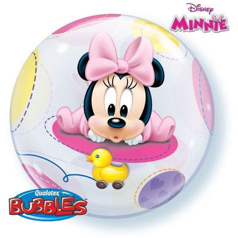 "22""  SINGLE BUBBLE        01CT,  DN BABY MINNIE MOUSE"