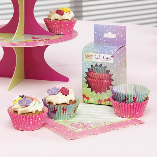 Fairy Princess Cupcake Cases- end of line-no further stock. April 2018 (CLR:5)