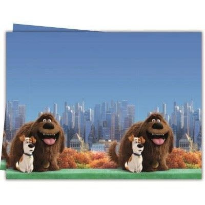 PARTY TABLE COVER 1CT,  THE SECRET LIFE OF PETS