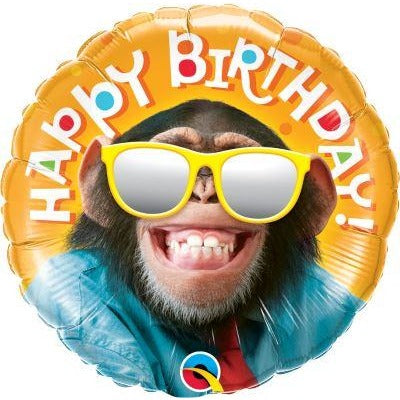 "18""  RND                  01CT,  BDAY SMILIN' CHIMP"