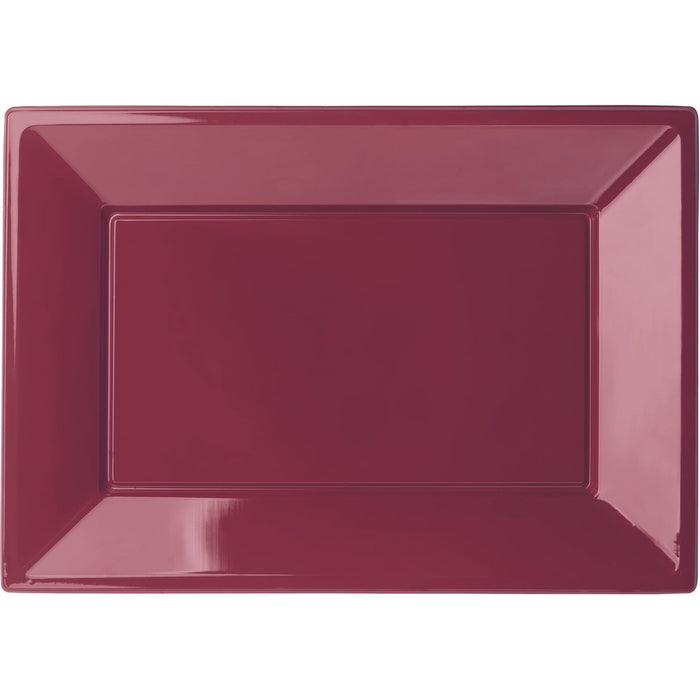 BBS BORDEAUX RECTANGULAR TRAYS 32X23 CM - CDU end of line April 2018