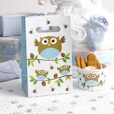 Little Owls - Party Bag - 5 - Blue