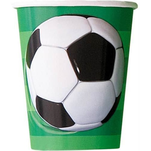 8 3D Soccerball 9oz Cups (Also Upstairs)  - Due 07/08/2018