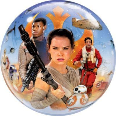 "22""  SINGLE BUBBLE        01CT,  STAR WARS: THE FORCE AWAKENS"
