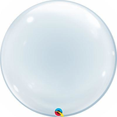 "24""  DECO BUBBLE          01CT,  CLEAR"