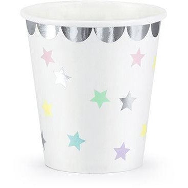Pastel Unicorn Stars Cups