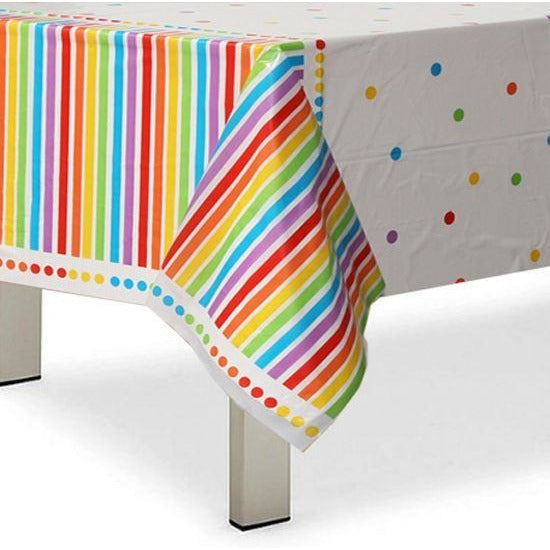 Rainbow Party Table Cover