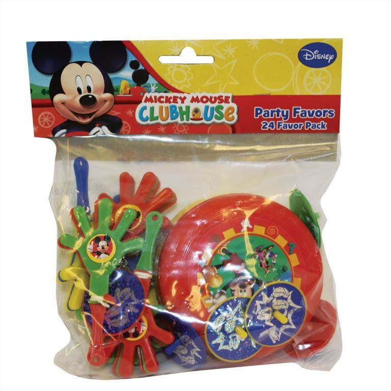 Mickey Mouse Clubhouse 24  Favor Pack