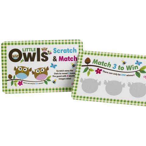 Little Owls - Scratch Card Game - 10