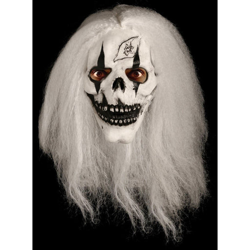 Halloween Hairy Skeleton Latex Mask