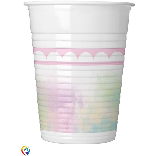Believe In Unicorns Plastic Cups