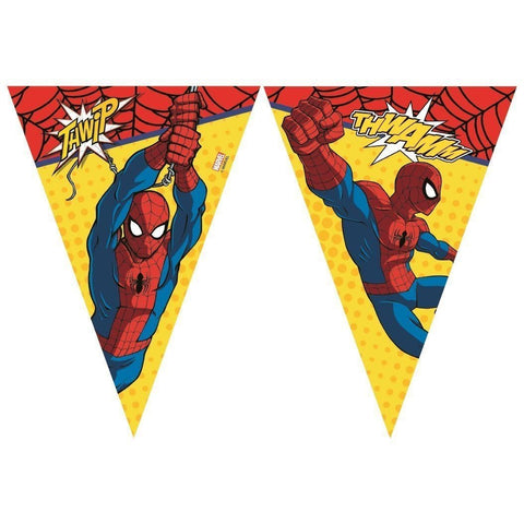 BANNER - TRIANGLE FLAG (9),  ULTIMATE SPIDER-MAN