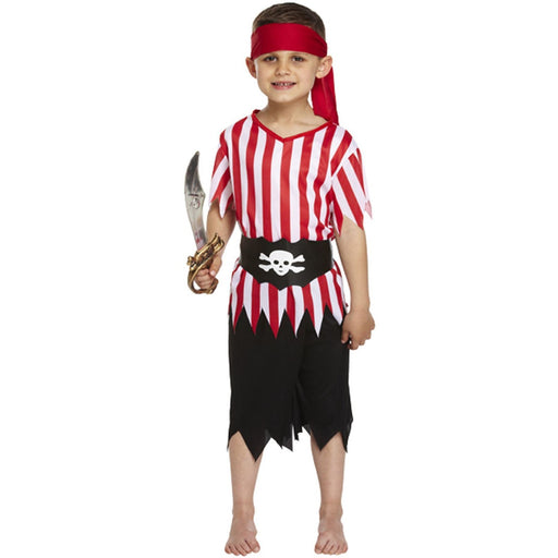 Child Pirate Costume 4-6 Years Henbrandt