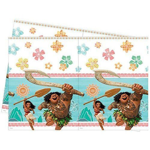 PARTY TABLE COVER 1CT,  MOANA